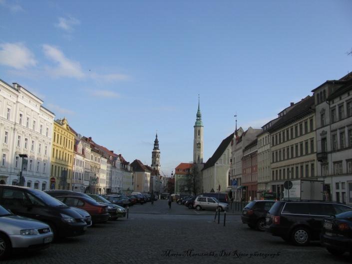 Vista de una de las calles principales de la ciudad de Görlitz