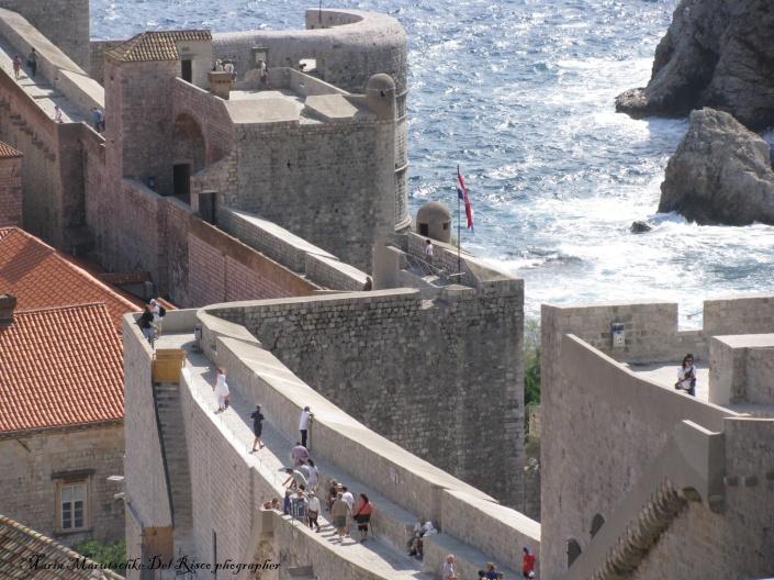 Las murallas de la ciudad de Dubrovnik