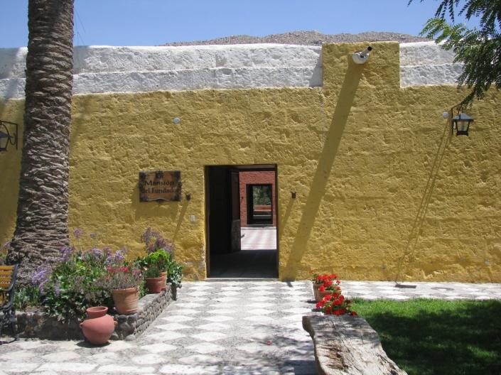 Casona colonial en la ciudad de Arequipa. Perú